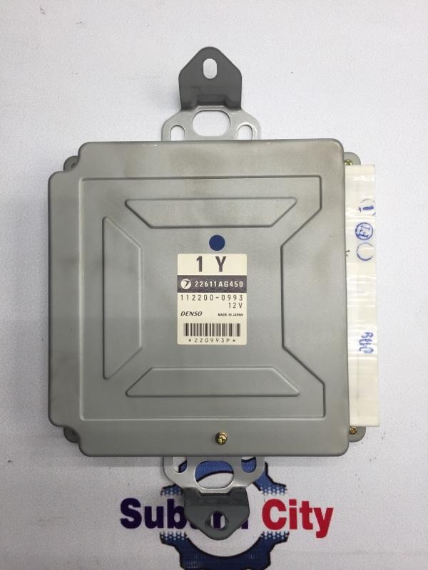 Блок управления двс Subaru Legacy BE EJ20 2001 (б/у)