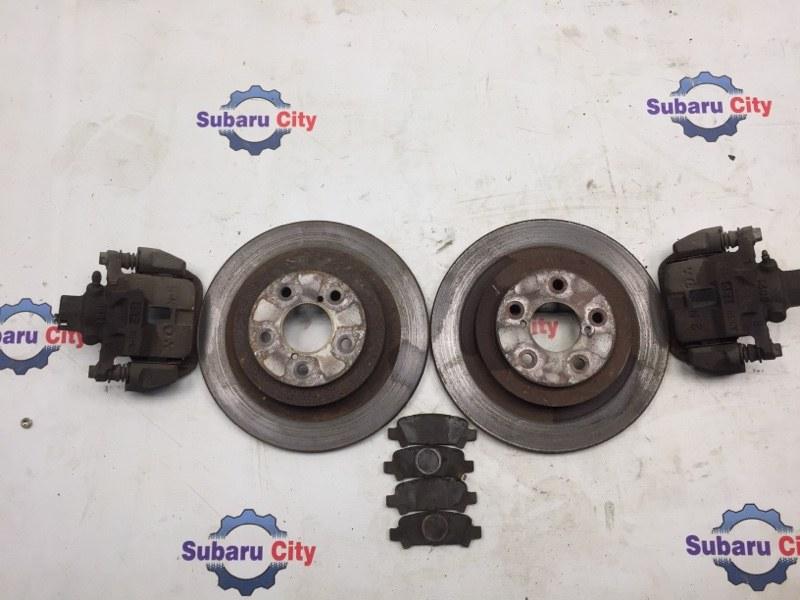 Комплект тормозов Subaru Legacy BE EJ20 2001 задний (б/у)