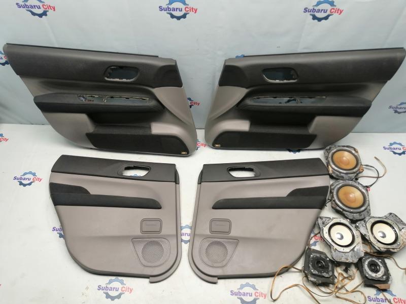 Обшивка двери Subaru Forester SG EJ20 2002 (б/у)