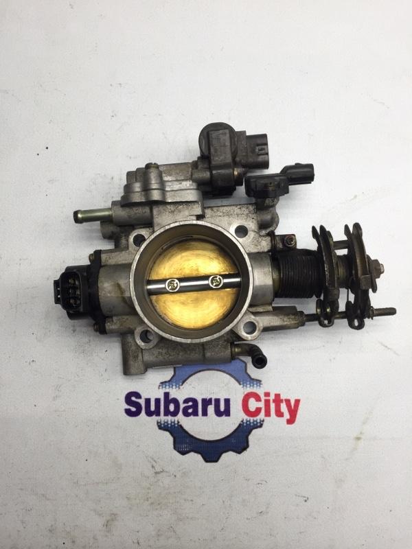 Дроссельная заслонка Subaru Legacy BE EJ20 2001 (б/у)