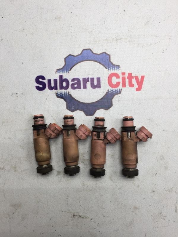 Форсунки топливные Subaru Legacy BE EJ206 2001 (б/у)