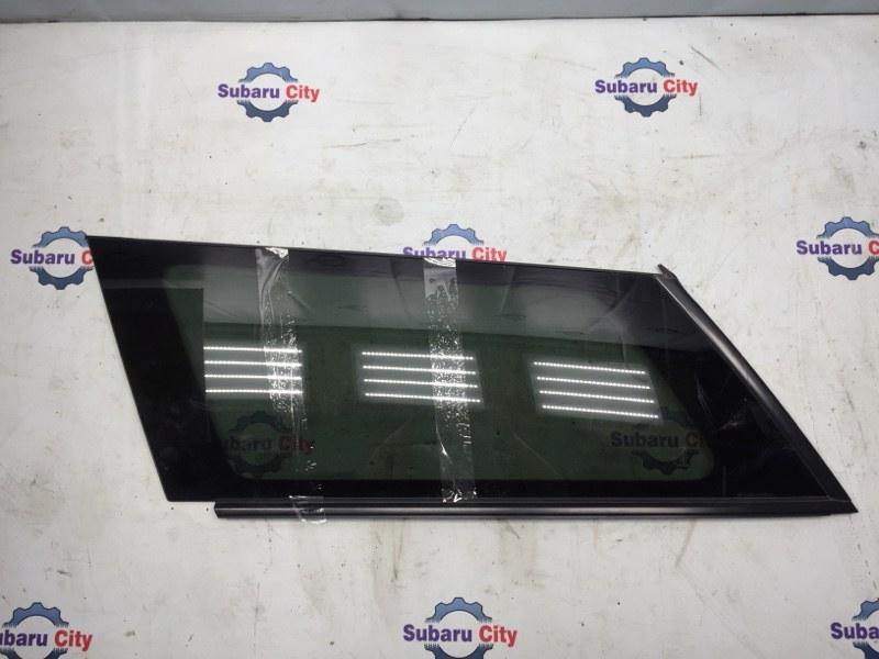 Стекло собачника Subaru Legacy BP EJ20 2003 левое (б/у)
