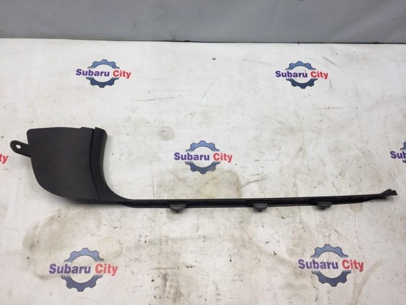 Накладка на порог салона Subaru Legacy BL EJ20 2003 передняя правая (б/у)