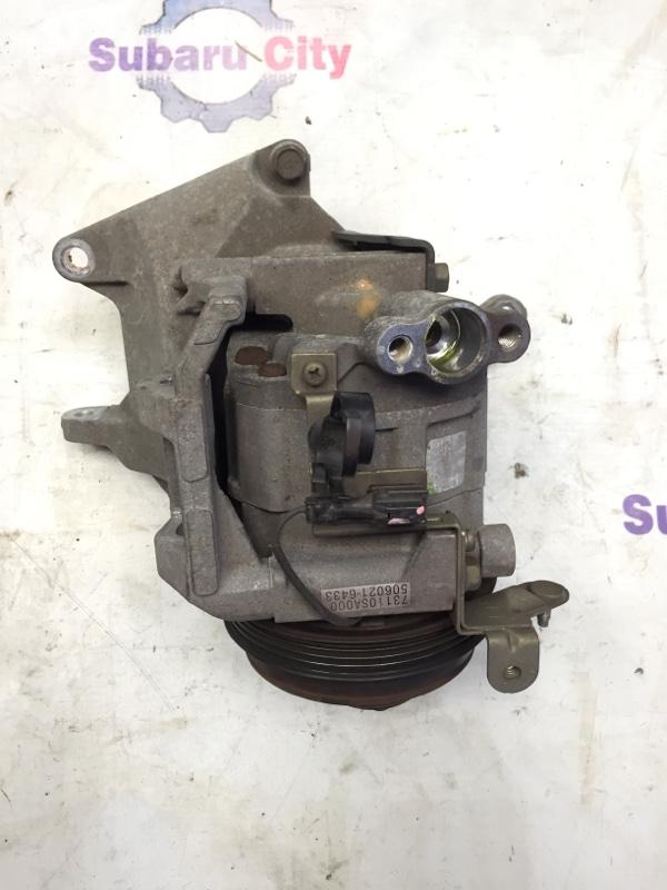 Компрессор кондиционера Subaru Forester SG EJ20 2003 (б/у)