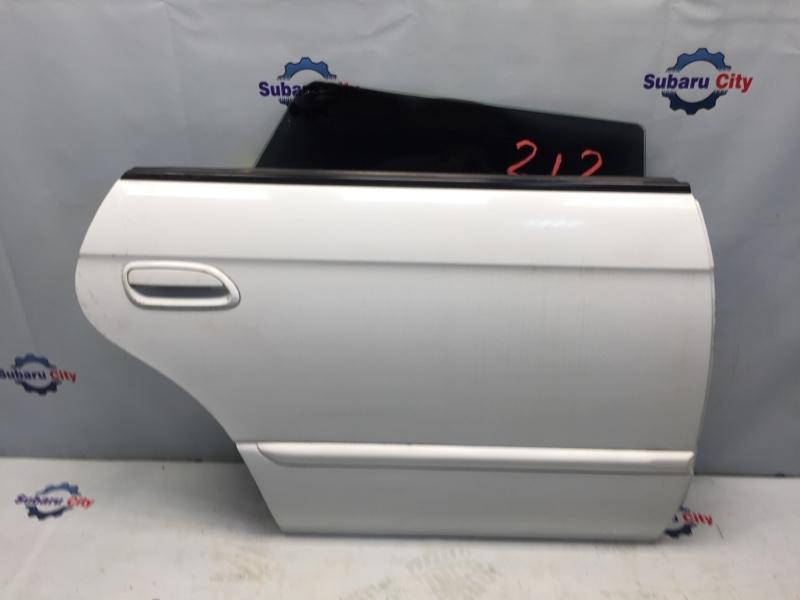 Дверь Subaru Legacy BE EJ20 1998 задняя правая (б/у)