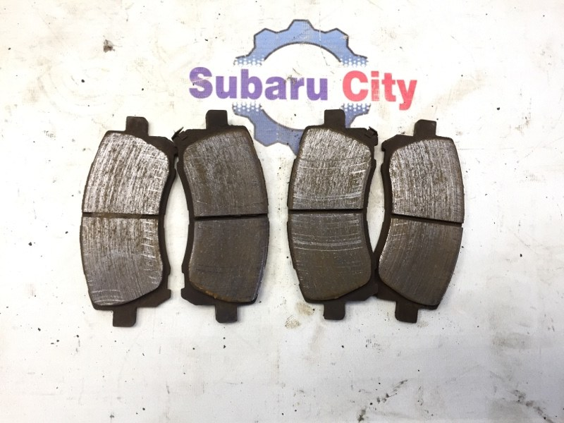 Тормозные колодки Subaru Legacy BE EJ20 1998 (б/у)