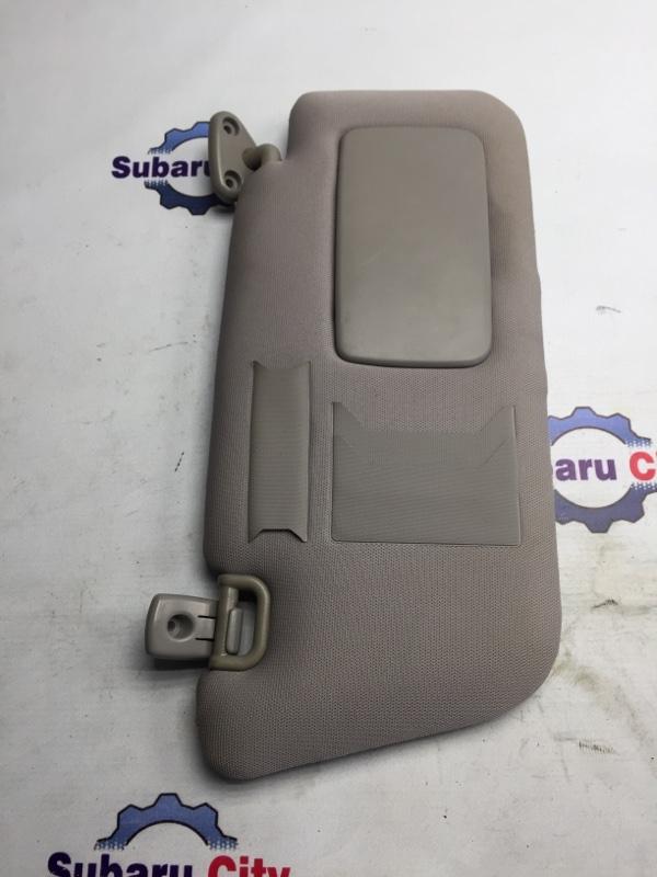 Козырек солнцезащитный Subaru Forester SG EJ20 2004 правый (б/у)