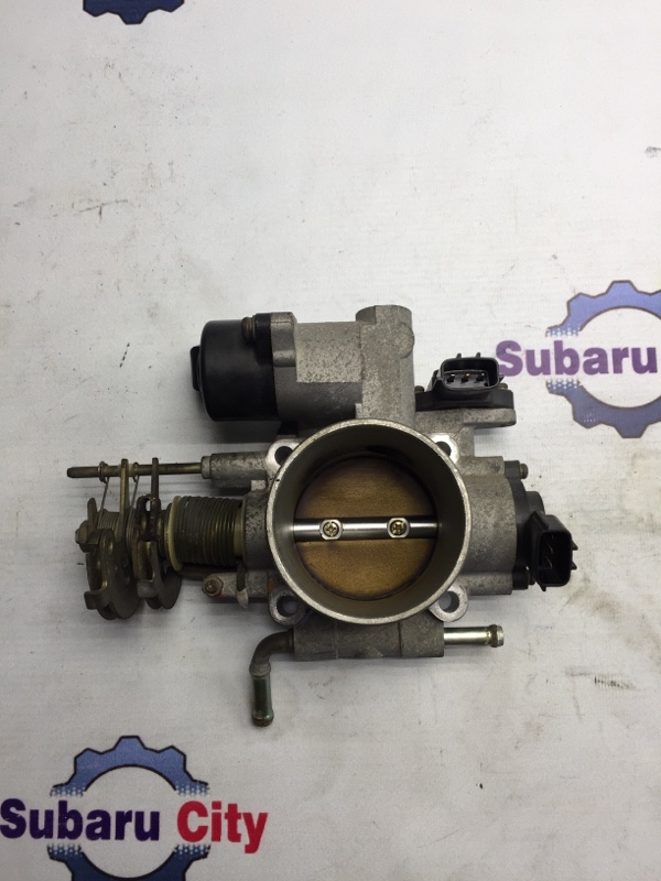 Дроссельная заслонка Subaru Forester SG EJ20 2004 (б/у)