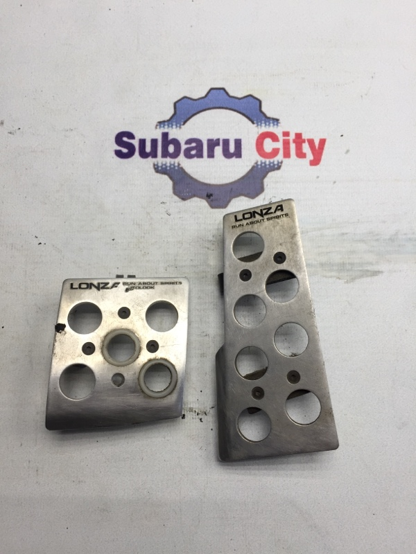 Накладки на педали Subaru Legacy BE EJ20 2000 (б/у)
