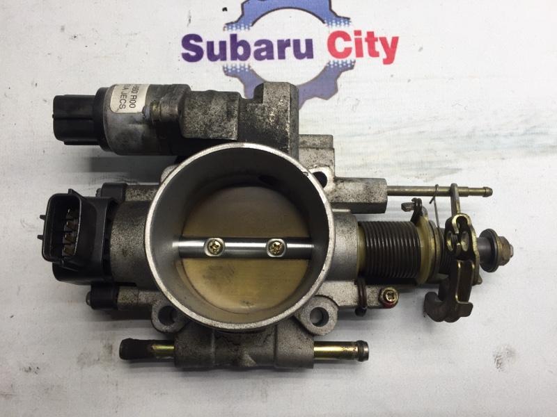 Дроссельная заслонка Subaru Forester SF EJ205 2000 (б/у)