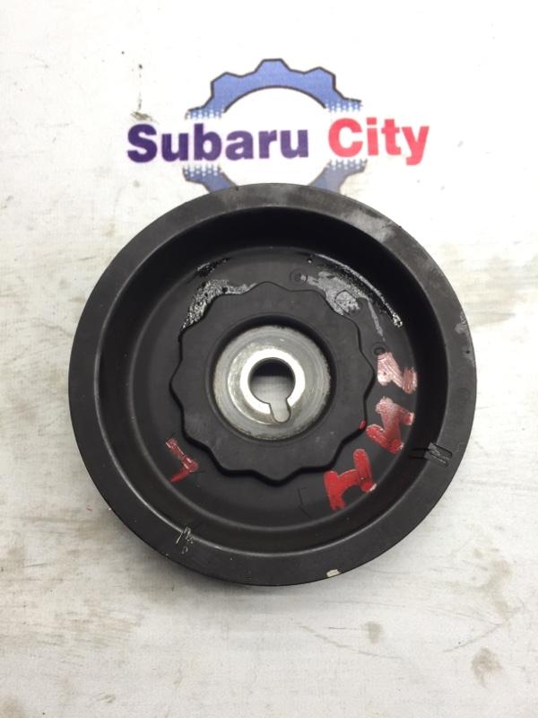 Шкив распредвала Subaru Legacy BE EJ20 2000 левый нижний (б/у)