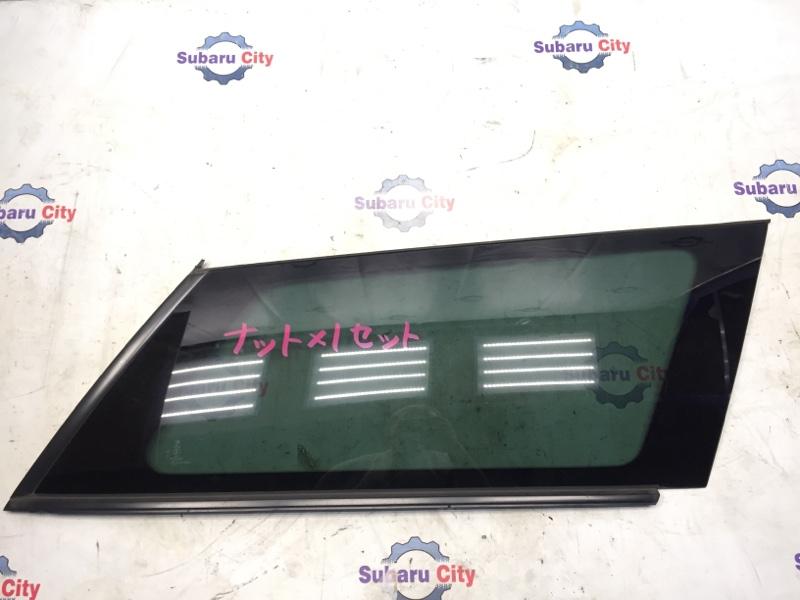 Стекло собачника Subaru Legacy BP EJ20 2007 правое (б/у)