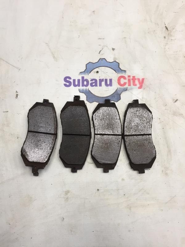 Тормозные колодки Subaru Legacy BL EJ20 2007 переднее (б/у)
