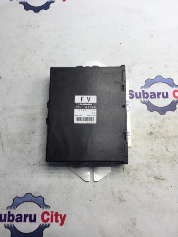 Блок управления двс Subaru Outback BP EJ25 2007 (б/у)