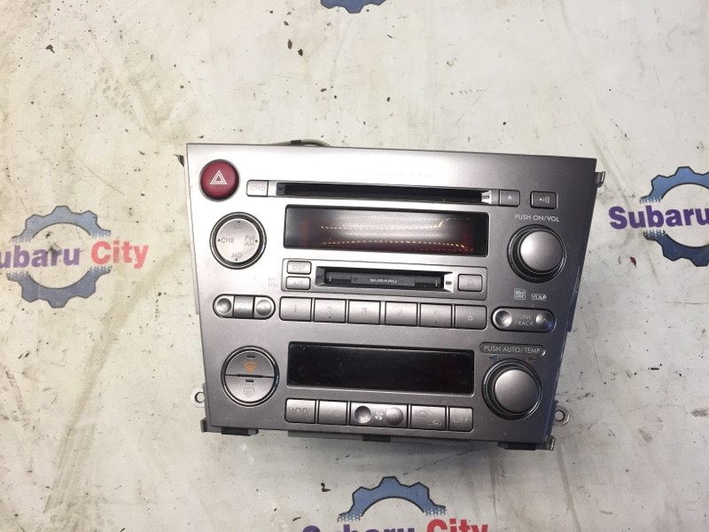 Магнитофон Subaru Legacy BL EJ20 2005 (б/у)