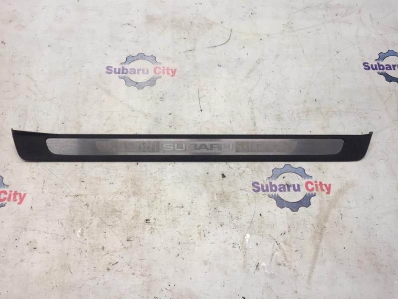 Накладка на порог салона Subaru Legacy BL EJ20 2005 передняя правая (б/у)