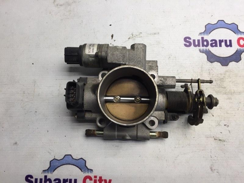 Дроссельная заслонка Subaru Forester SF EJ205 2001 (б/у)