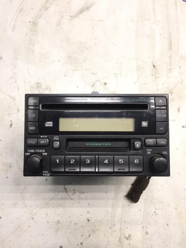 Магнитофон Subaru Forester SF EJ20 2001 (б/у)