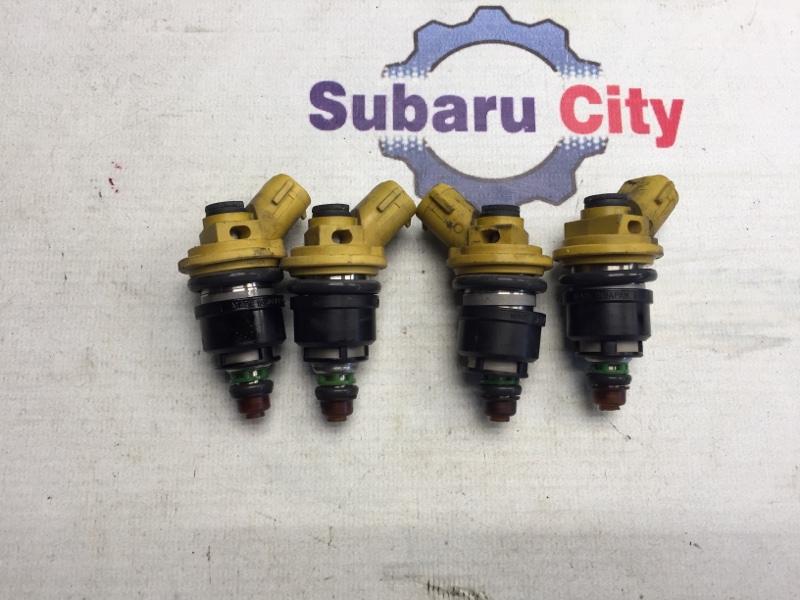 Форсунки топливные Subaru Legacy BE EJ206 2000 (б/у)