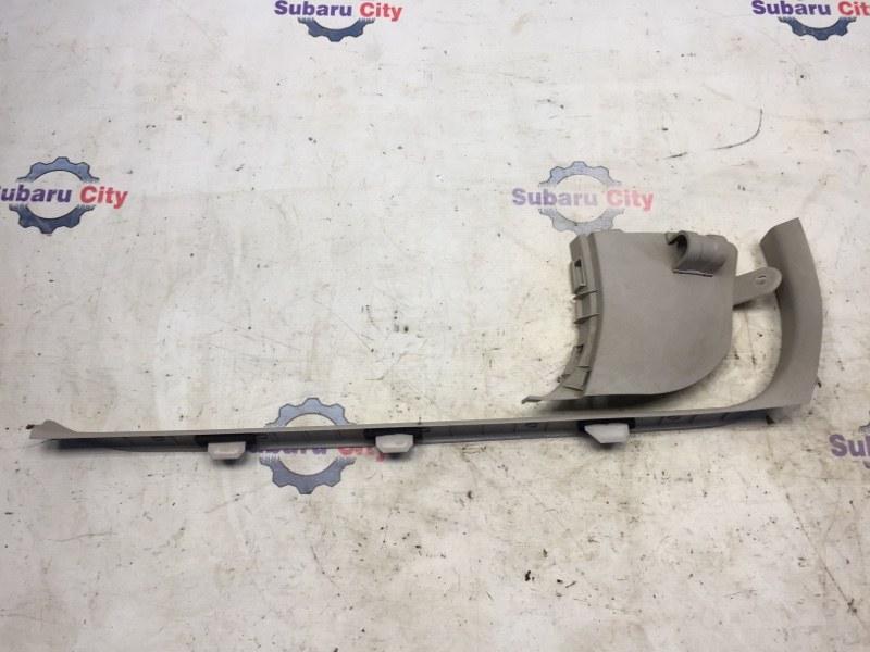 Накладка на порог салона Subaru Legacy BL EJ20 2004 передняя левая (б/у)