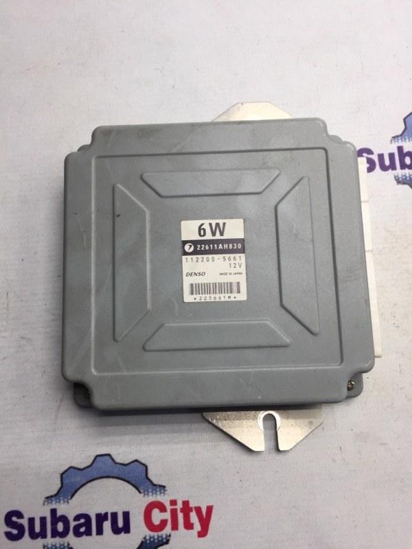 Блок управления двс Subaru Legacy BL EJ25 2004 (б/у)