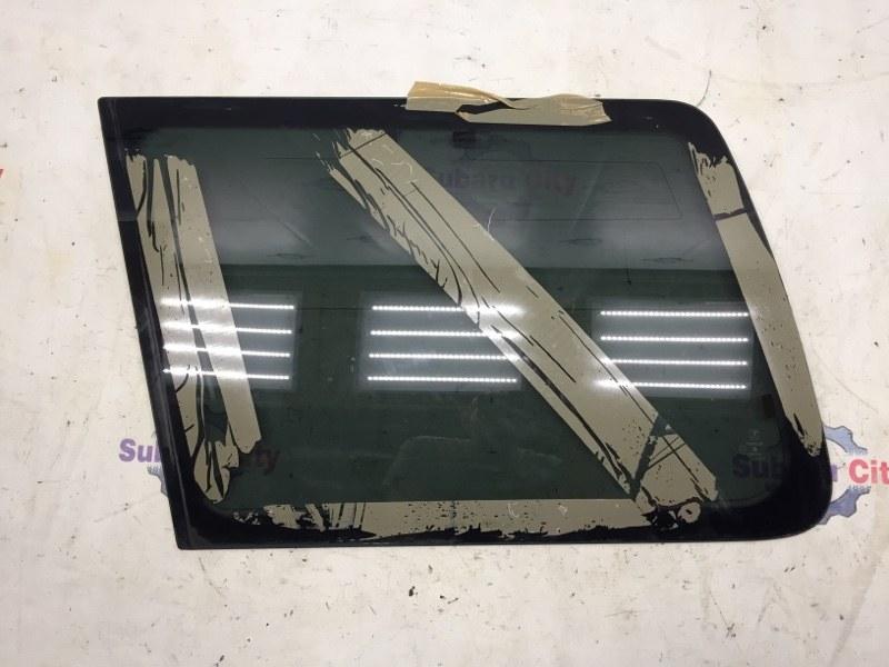 Стекло собачника Subaru Forester SF EJ20 2001 левое (б/у)