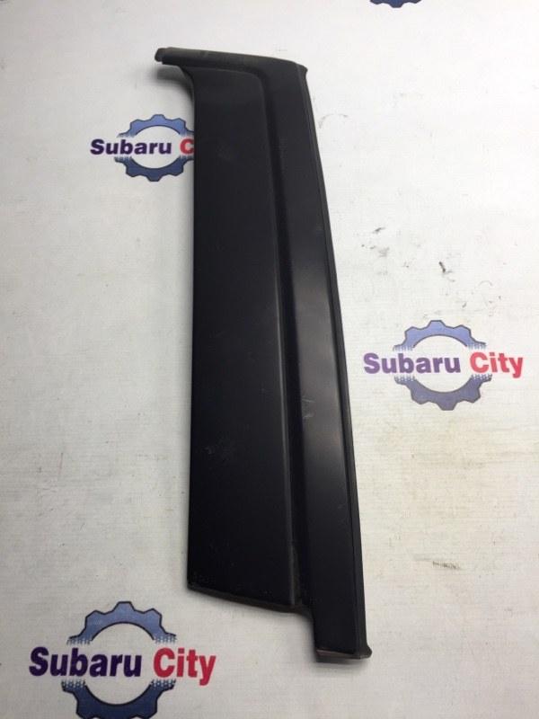 Накладка на стойку наружная Subaru Forester SF EJ20 2001 левая (б/у)