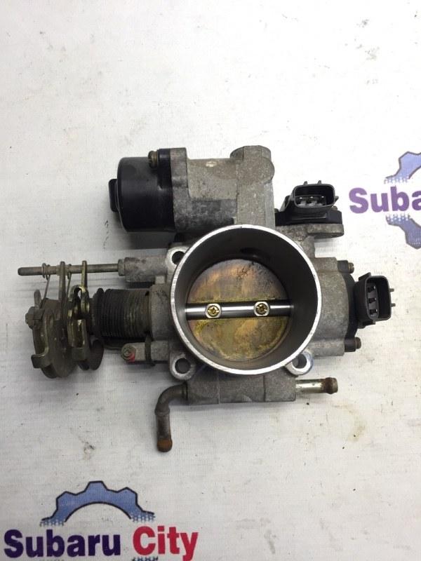 Дроссельная заслонка Subaru Forester SF EJ20 2001 (б/у)
