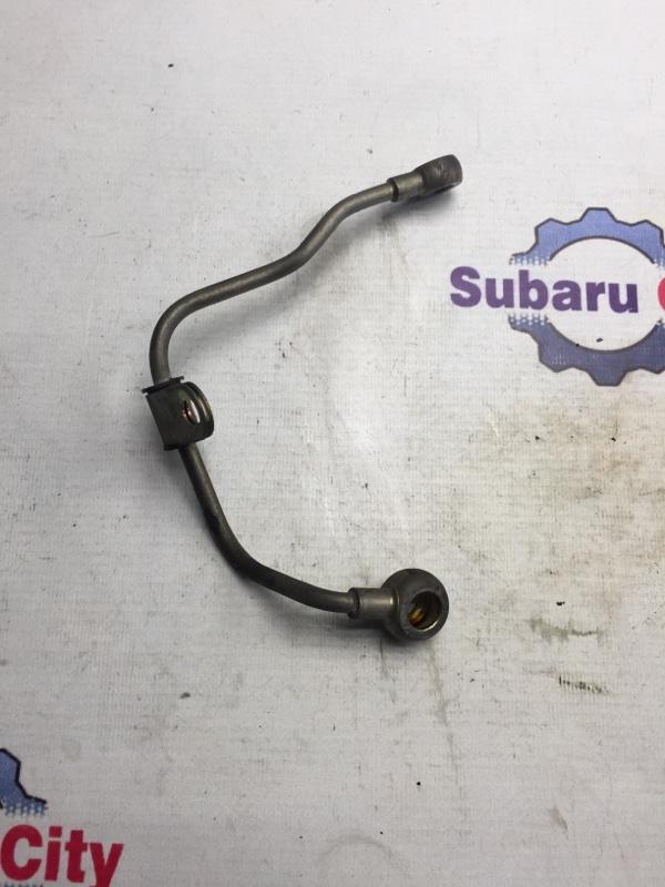 Трубка масло подачи турбины Subaru Legacy BE EJ206 2000 правая (б/у)
