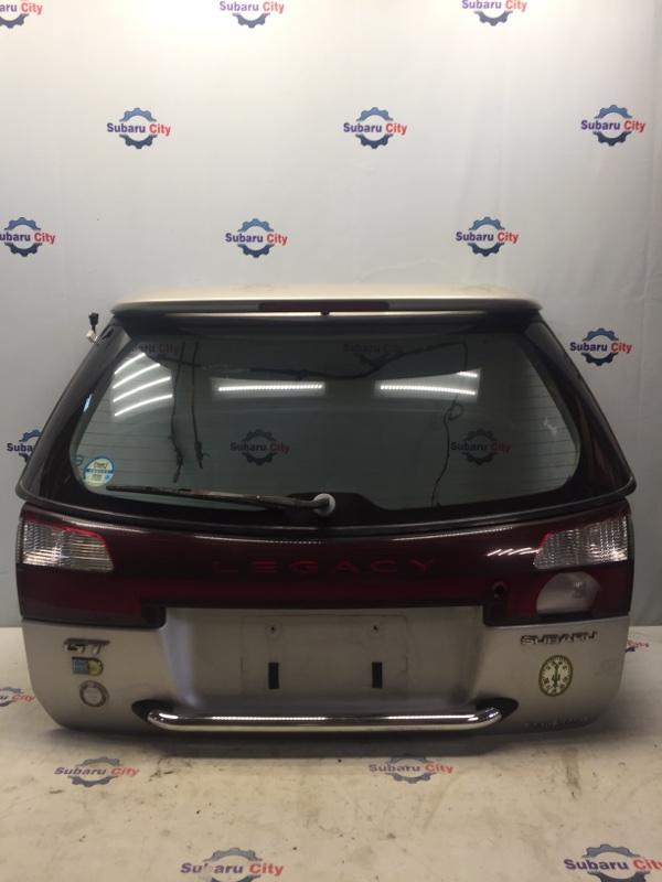 Дверь багажника Subaru Legacy BH EJ20 2000 (б/у)