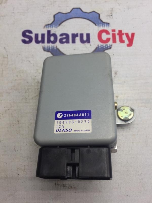 Блок управления топливным насосом Subaru Legacy BE EJ20 1998 (б/у)