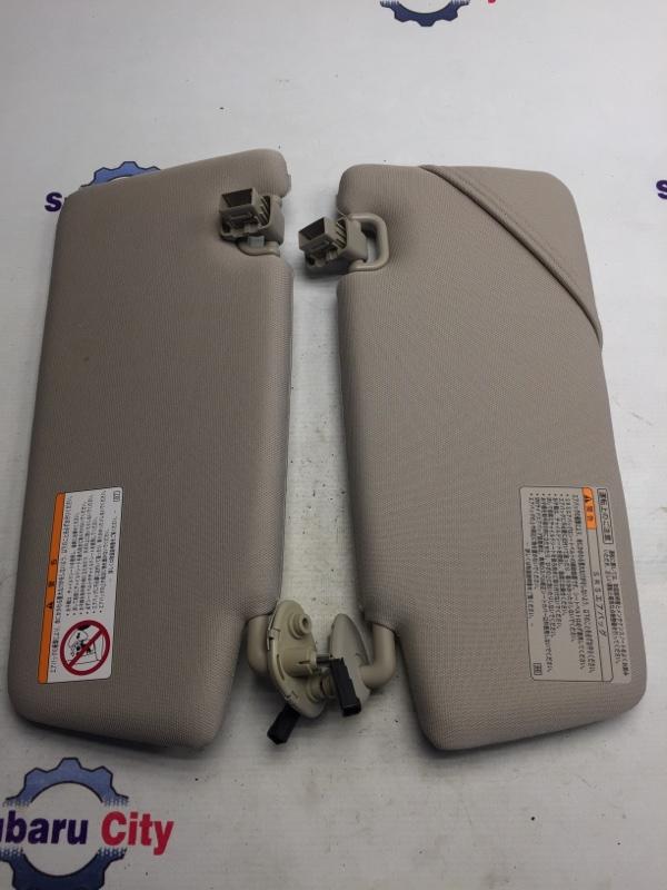 Козырек солнцезащитный Subaru Legacy BL EJ20 2004 (б/у)