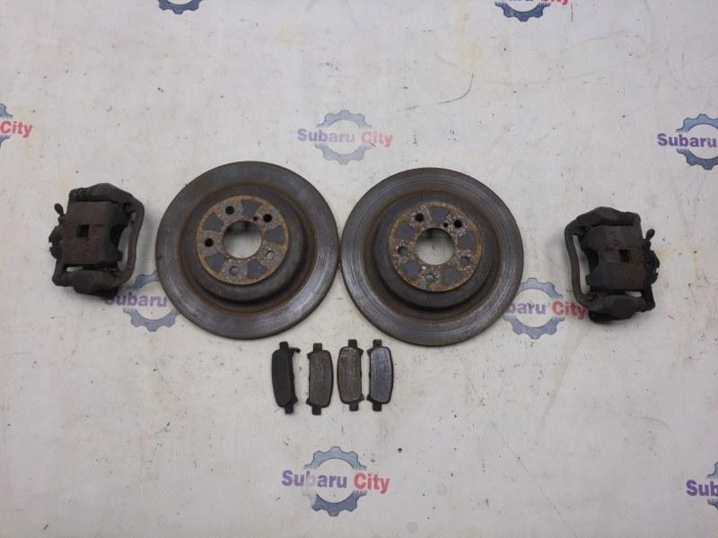 Комплект тормозов Subaru Legacy BE EJ20 2004 задний (б/у)