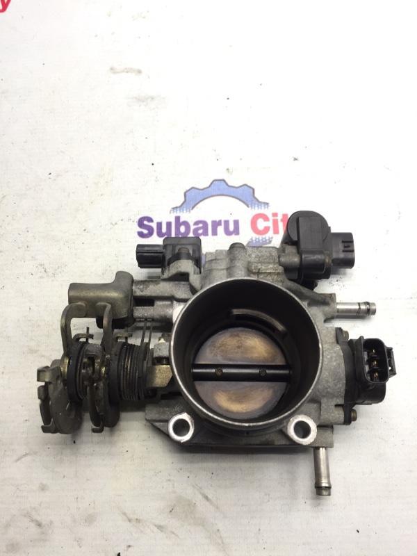 Дроссельная заслонка Subaru Forester SF EJ20 1998 (б/у)
