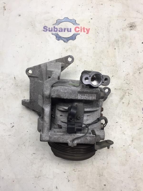 Компрессор кондиционера Subaru Forester SF EJ20 1998 (б/у)