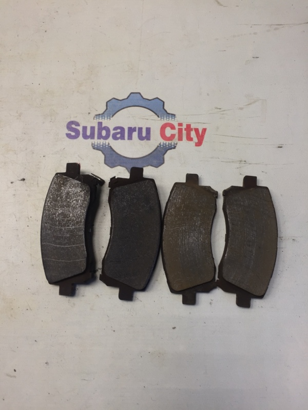 Тормозные колодки Subaru Legacy BE EJ20 1999 переднее (б/у)