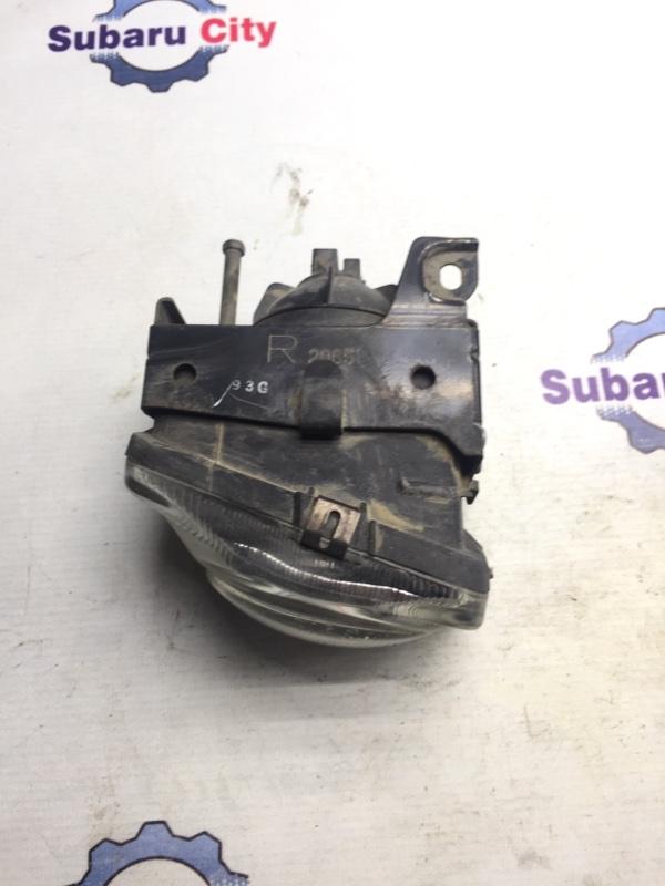 Фары противотуманные Subaru Legacy BE EJ20 1999 правые (б/у)