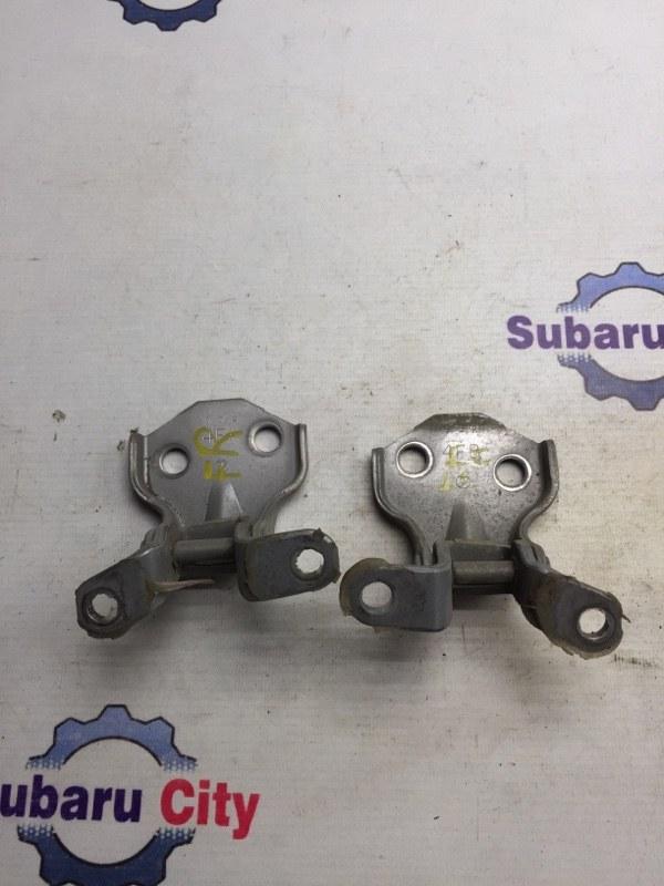 Петли двери Subaru Legacy BE EJ20 1999 передние правые (б/у)