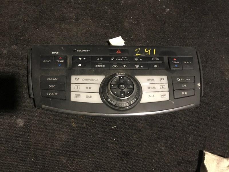 Центральная консоль Nissan Fuga PNY50 VQ35DE (б/у)