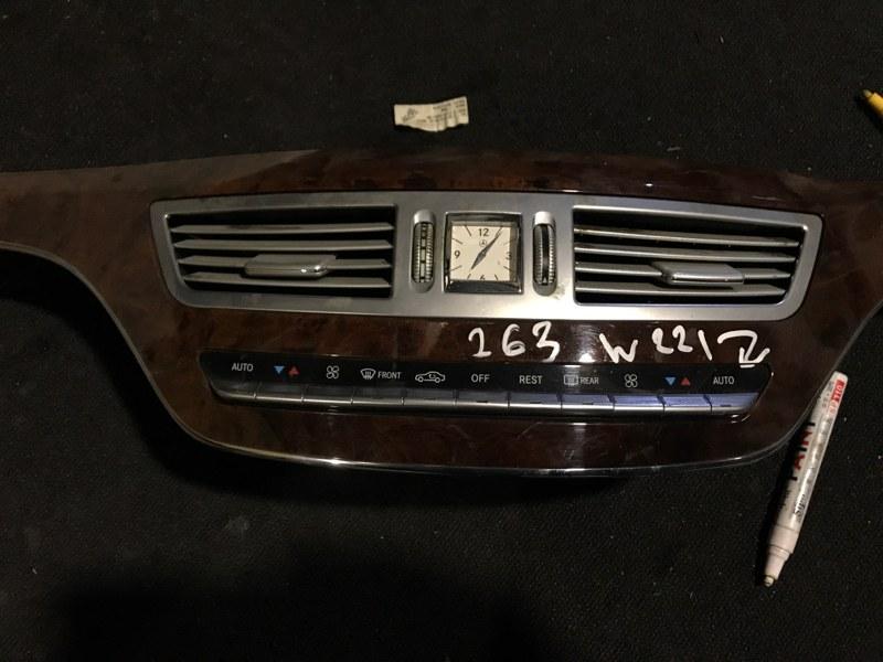 Консоль с часами Mercedes-Benz S-Class W221 273 2009 (б/у)