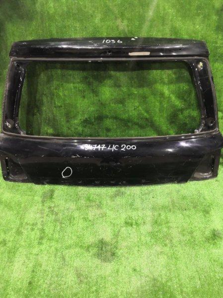 Дверь багажника Toyota Land Cruiser 200 URJ202 2008 задняя верхняя (б/у)