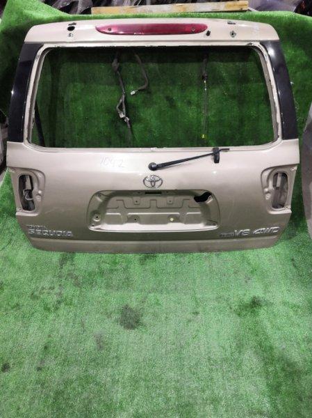 Дверь багажника Toyota Sequoia UCK35 2006 задняя (б/у)