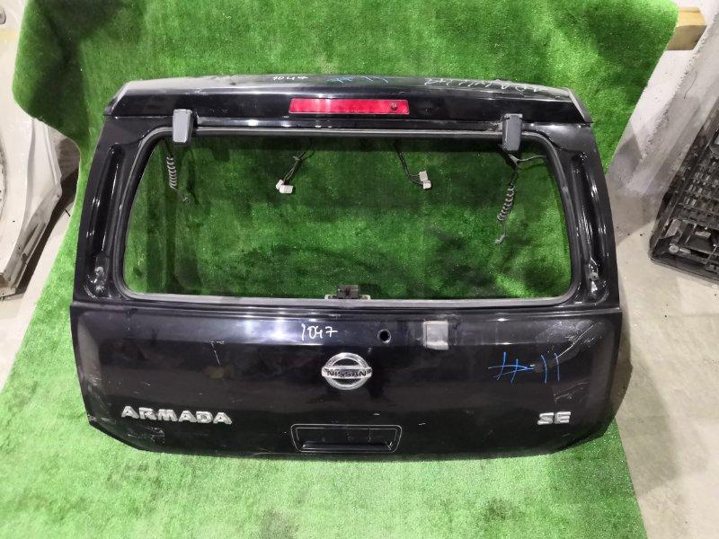 Дверь багажника Nissan Armada TA60 VK56DE 2006 задняя (б/у)
