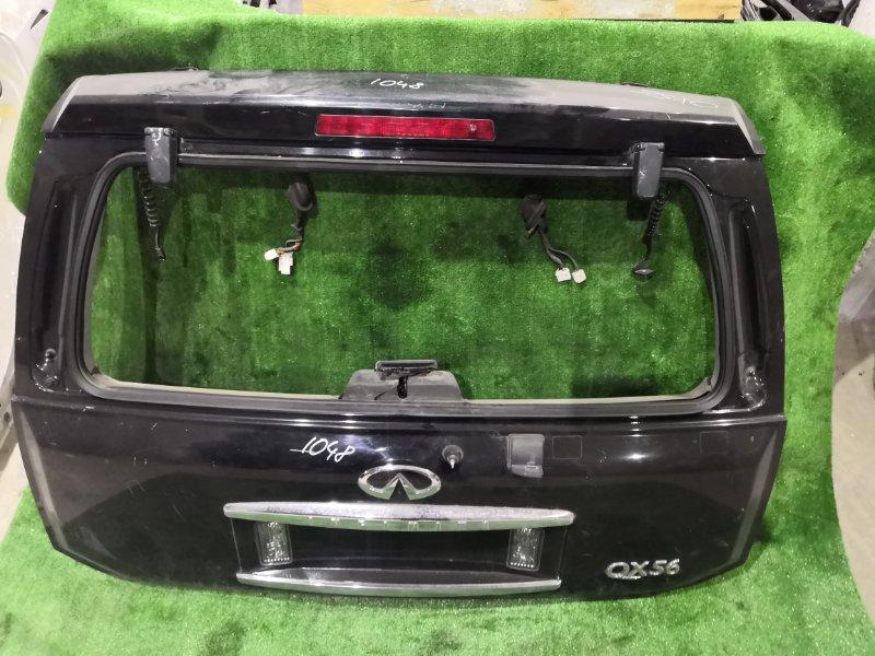 Дверь багажника Infiniti Qx56 JA60 VK56DE 2006 задняя (б/у)