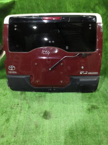 Дверь багажника Toyota Fj Cruiser GSJ15 1GR 2010 задняя (б/у)