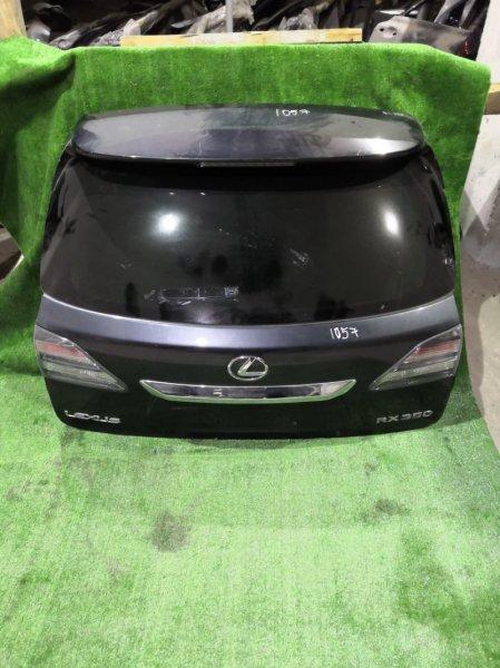 Дверь багажника Lexus Rx270 GGL10 2GRFE 2011 задняя (б/у)