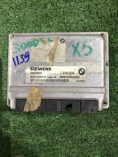 Блок управления двс Bmw X5 E53 M54 2004 (б/у)