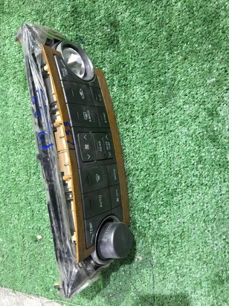 Блок управления климат-контролем Toyota Highlander GSU40 3MZFE 2010 (б/у)