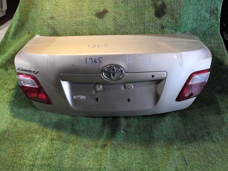 Крышка багажника Toyota Camry ACV40 задняя (б/у)