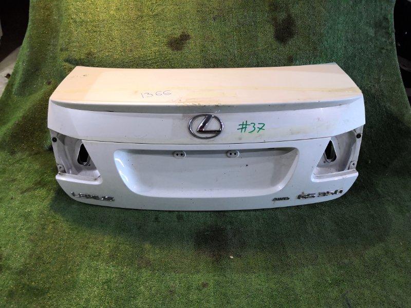 Крышка багажника Lexus Gs300 GRS190 задняя (б/у)